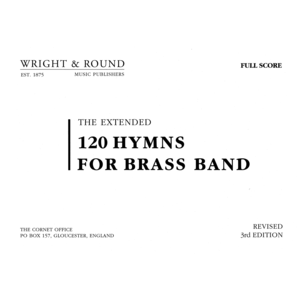 120 Hymns Full Brass Score